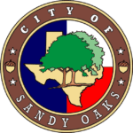 City of Sandy Oaks P.O. Box 828 Elmendorf, TX 78112 2106070834